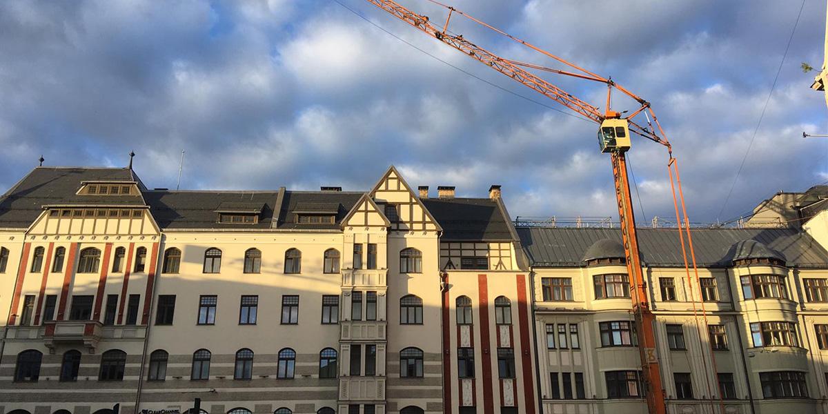 Daudzdzīvokļu ēkas mansarda stāva izbūve - Dzirnavu iela 63, Rīga